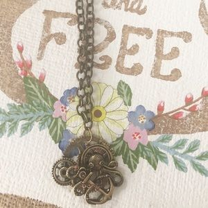 Jewelry - Steampunk Octopus Necklace